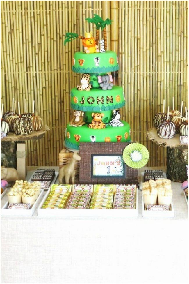 Safari Birthday Party Decorations