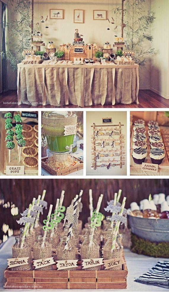 Safari Decorations For Birthday Party Home Party Ideas