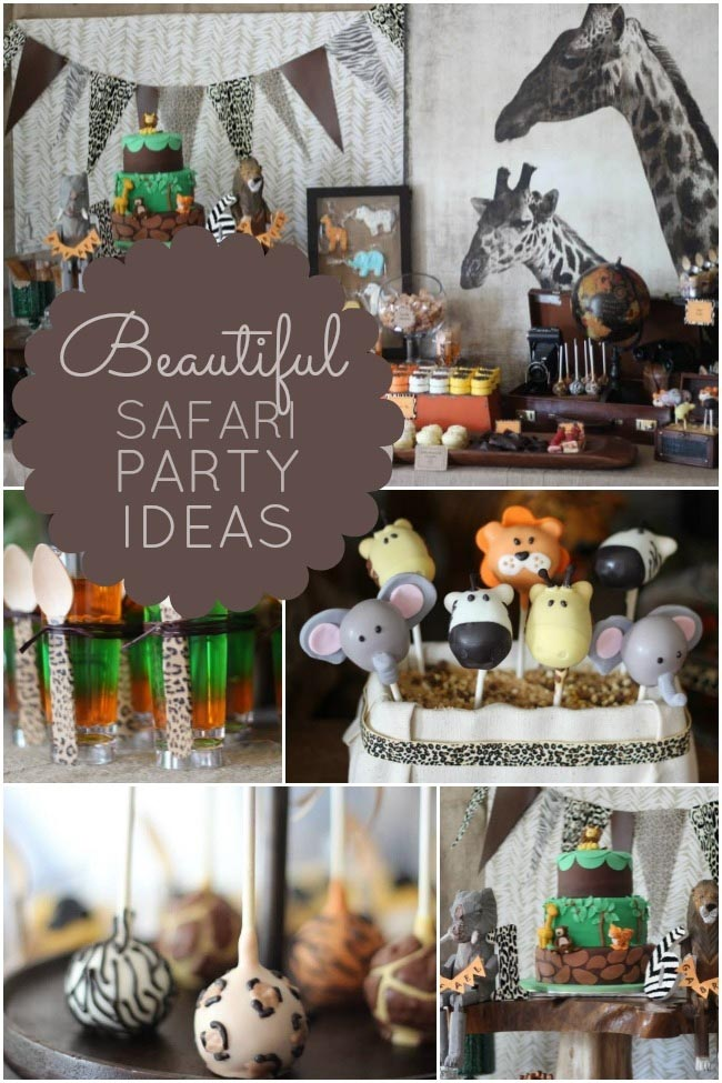 Safari Ideas for Birthday Party