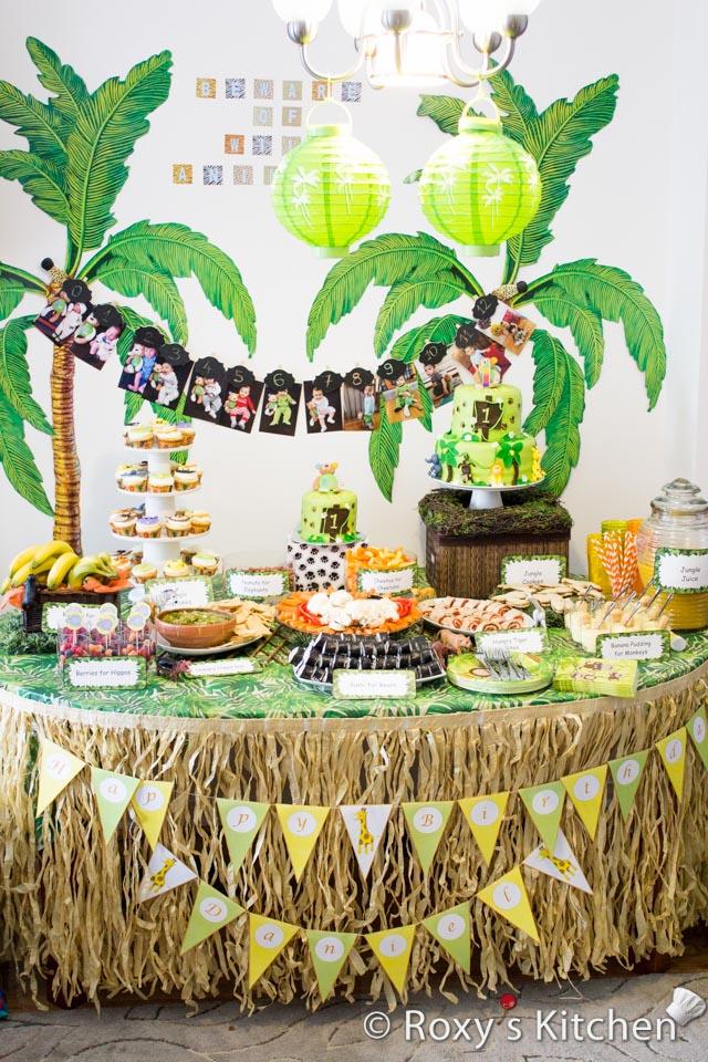 Safari Themed 1st Birthday Party