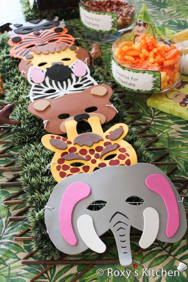 Safari Themed Birthday Parties