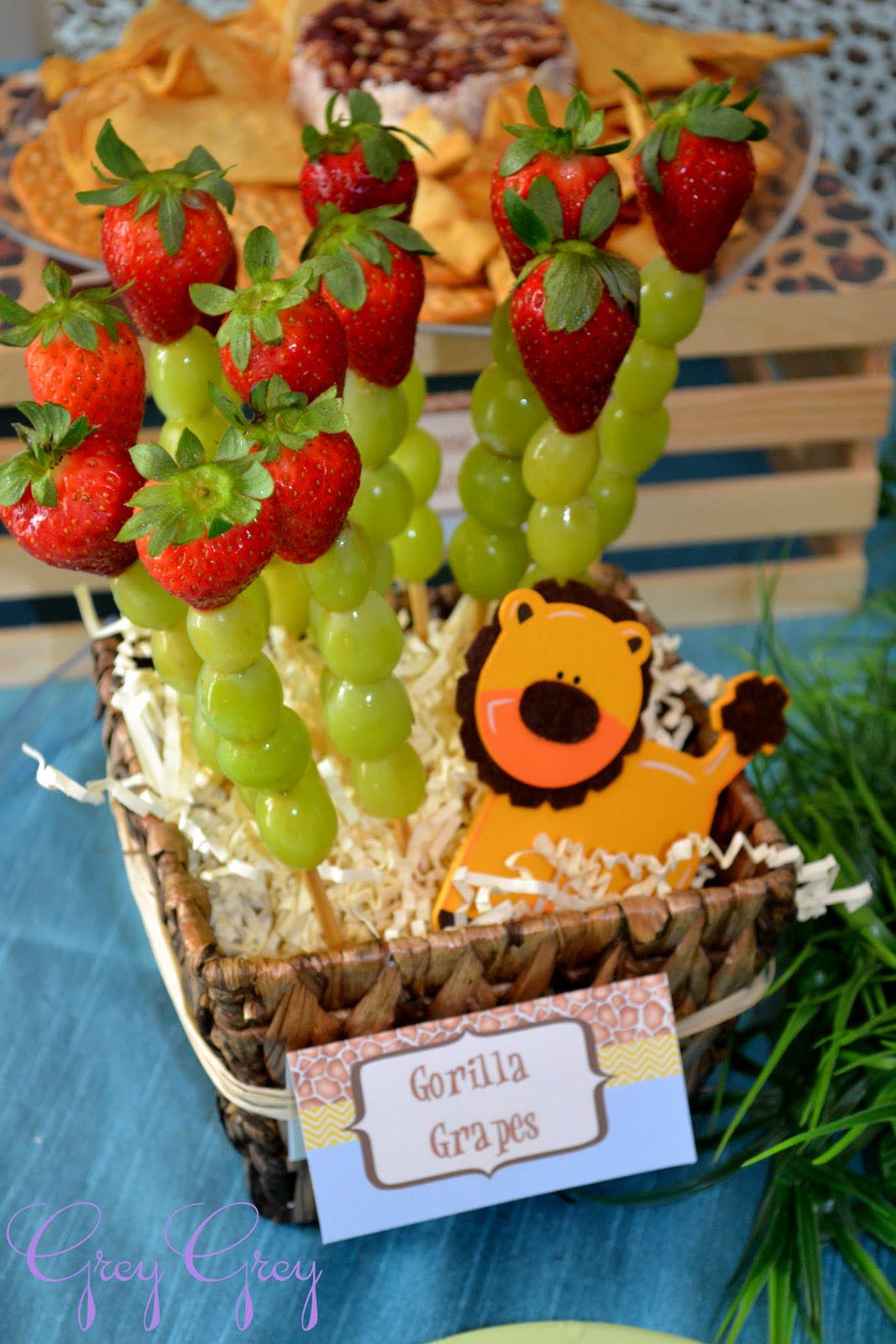 Safari Themed Birthday Party Ideas