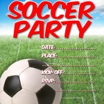 Soccer Birthday Party Invitations Free