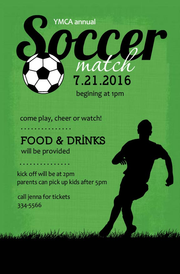 Soccer Themed Invitations Birthday Amazing Invitation Template