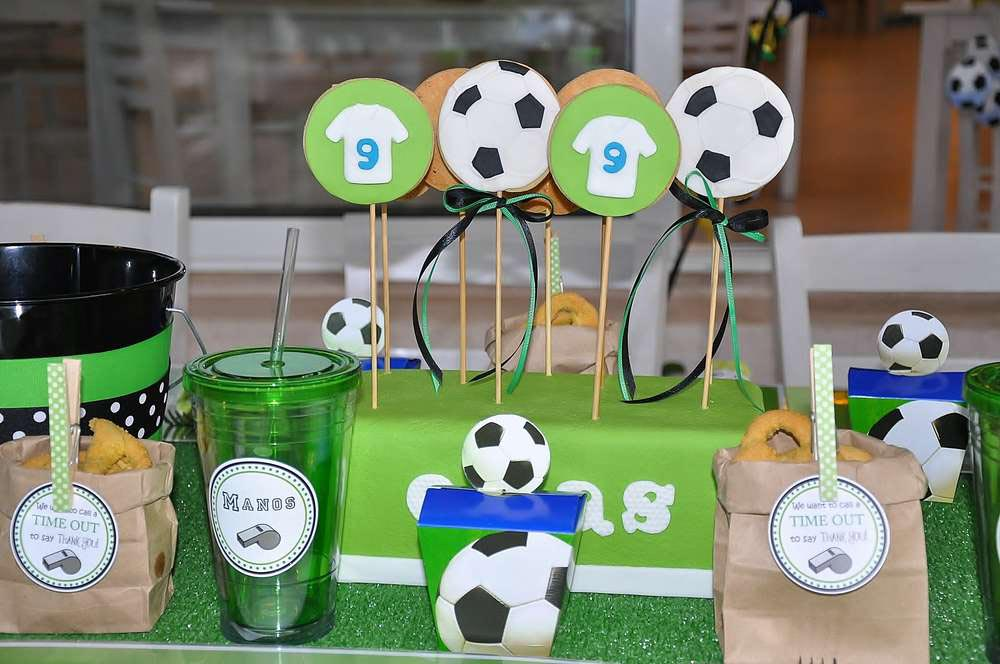 Soccer Birthday Party Theme