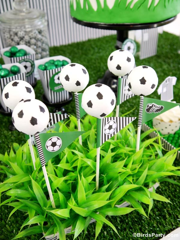 Soccer Decorations For Birthday Party