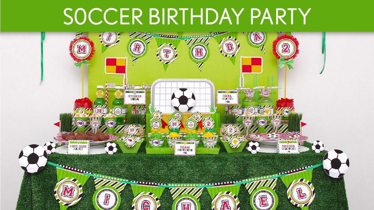 Soccer Party Ideas Birthday