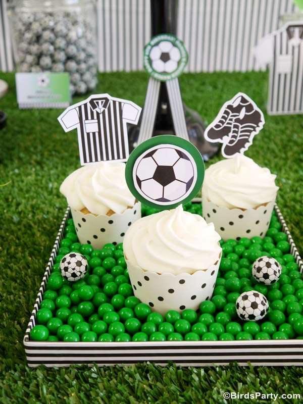 Soccer Themed Birthday Parties