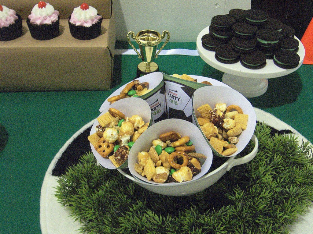 Soccer Themed Birthday Party Food