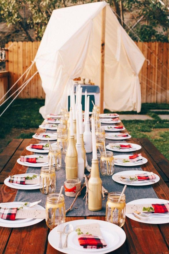 Summer Dinner Party Themes