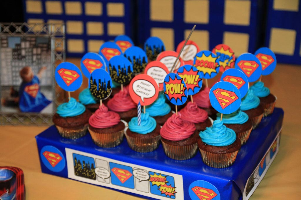 Superman 1st Birthday Party Home Party Ideas
