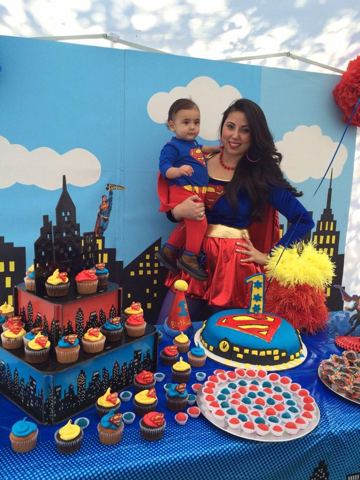 Superman birthday party decoration ideas home party ideas for Baby boy 1st birthday decoration ideas