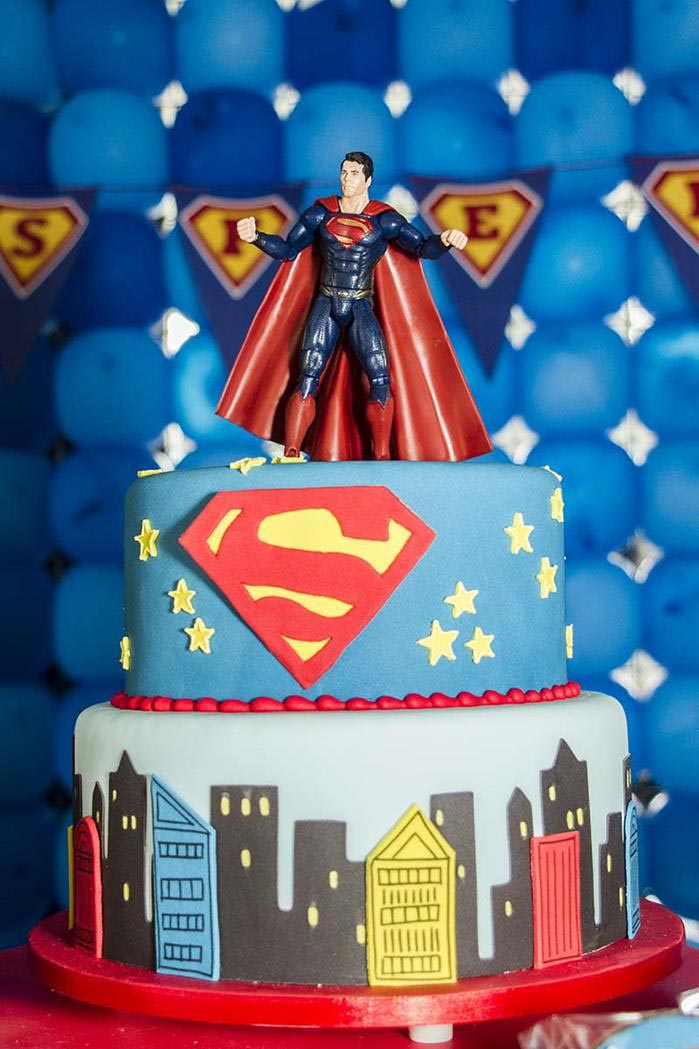 Superman Birthday Party Decorations