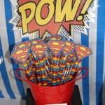 Superman Birthday Party Food Ideas