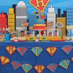 Superman Birthday Party Ideas