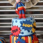 Superman First Birthday Party
