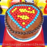 Superman First Birthday Party Ideas