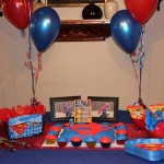 Superman Supplies Birthday Party