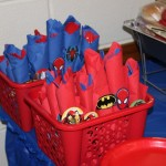 Superman Themed 1st Birthday Party