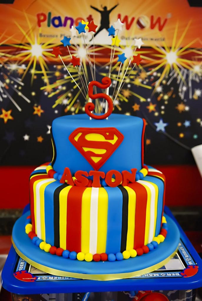 Superman Themed Birthday Party Ideas