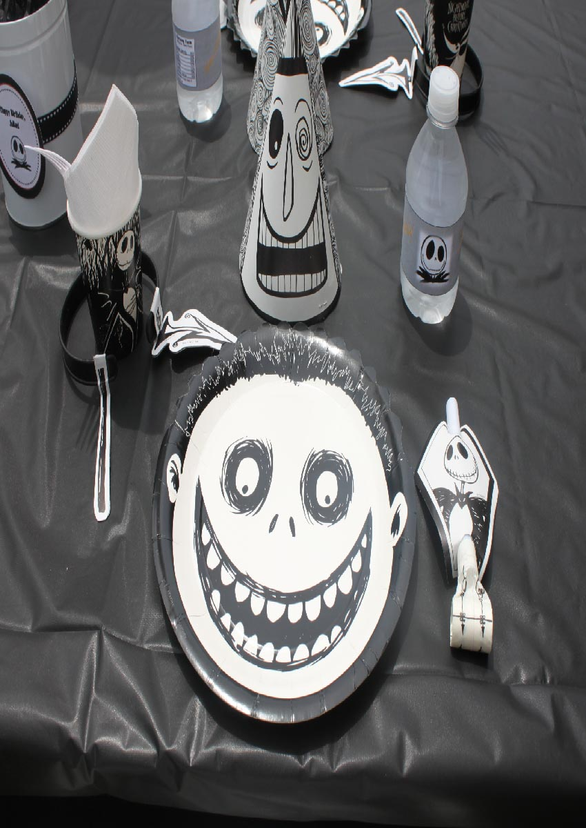 the nightmare before christmas birthday party supplies - Nightmare Before Christmas Birthday Decorations