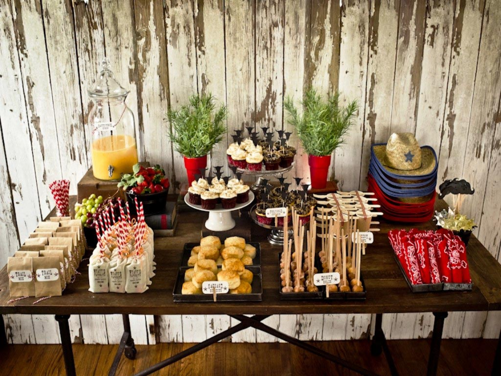 Western birthday party ideas adults home party ideas for Adult birthday party decoration